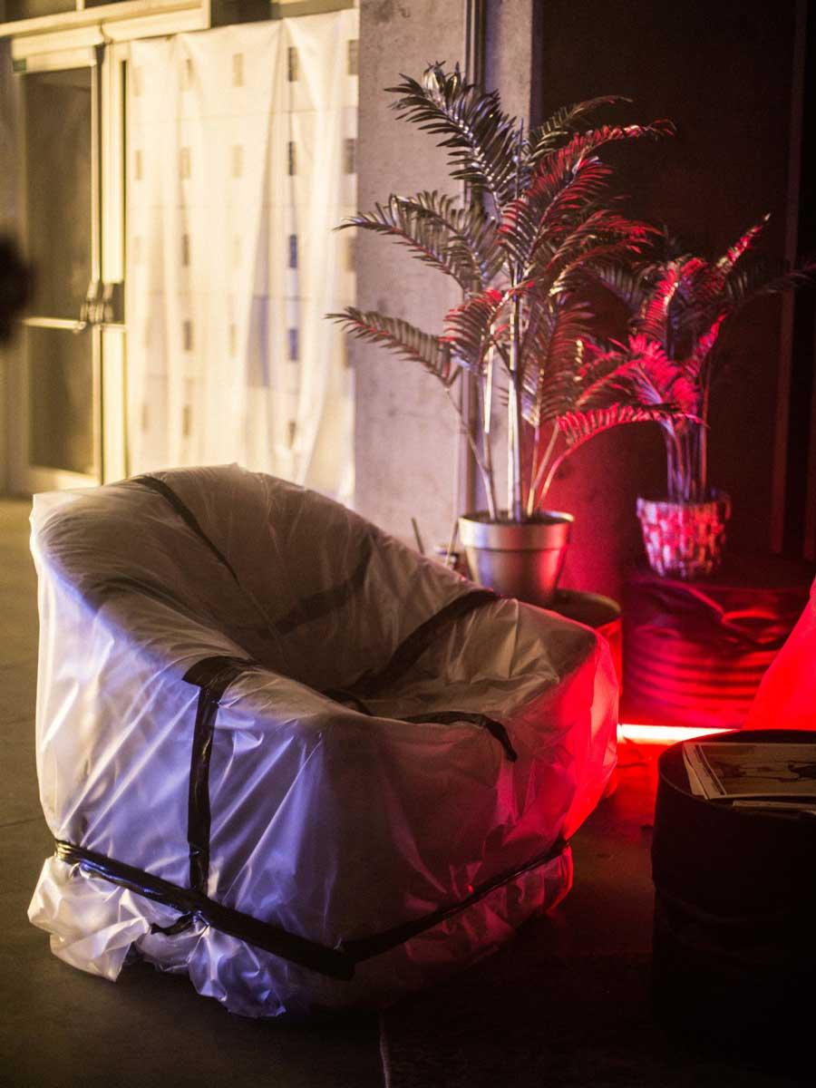 Futuristic Atmospheric Interior Furniture